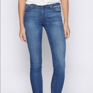 Joie mid-rise skinny jeans in Sinatra size 27